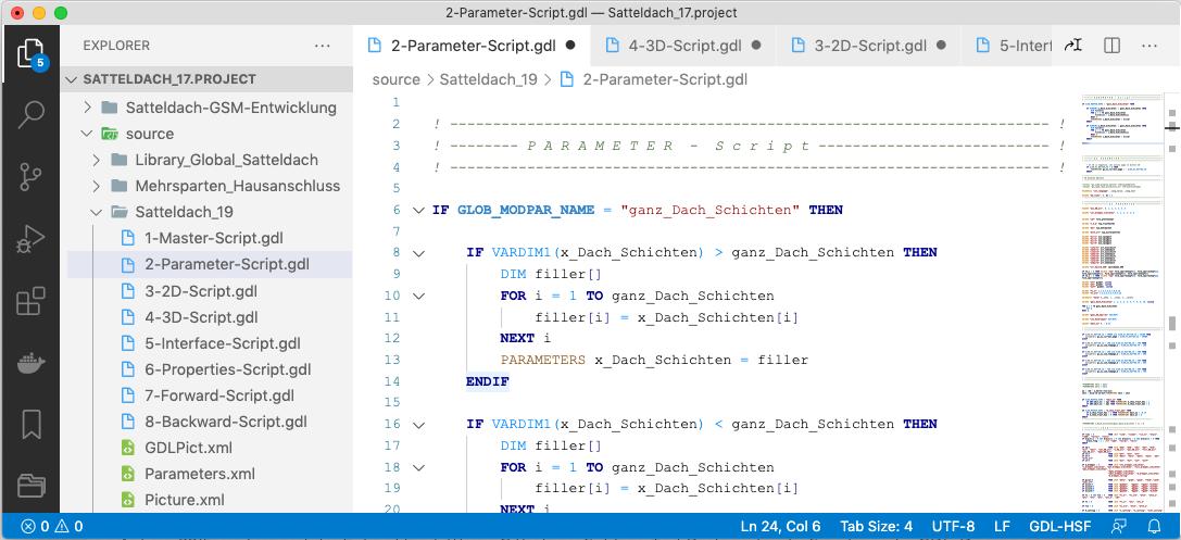 Visual Studio Code + GDL extension